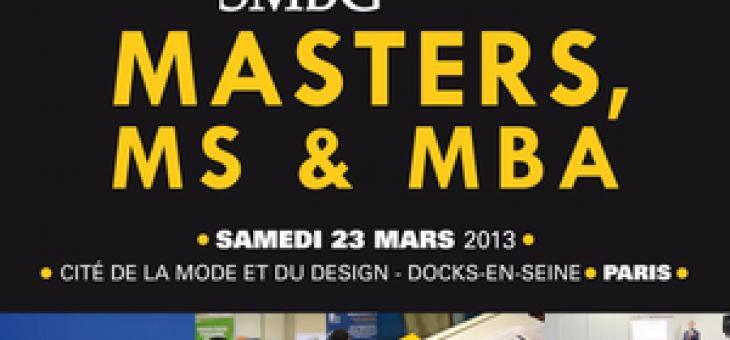 Salon SMBG ce samedi 23 mars 2013