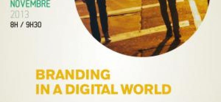 Conférence Branding in a digital world avec Oxymore Studio le 15 novembre