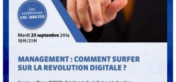 Conférence Management - Comment surfer sur la révolution digitale ?