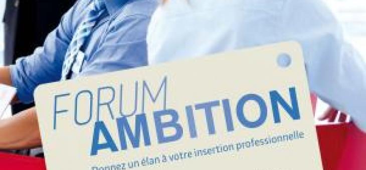 Nous vous attendons au Forum Ambition le 6 septembre