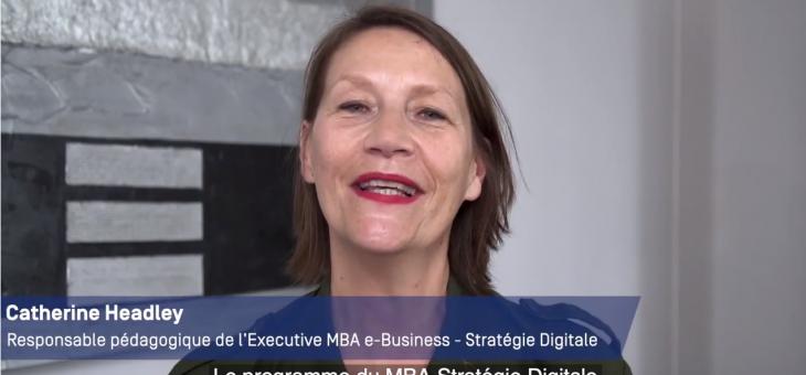 Exec MBA e-Business - Stratégie digitale : Demandez le programme